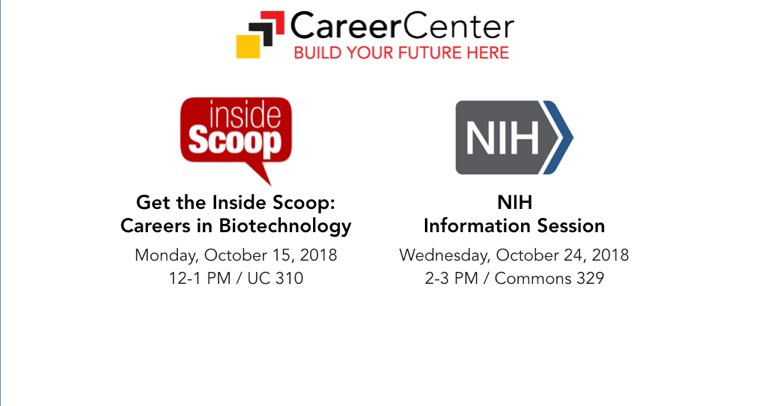 Career Center Sessions
